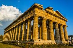 Ναός Paestum στοκ φωτογραφίες