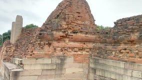 Ναός Panchytan στις καταστροφές Sarnath Στοκ εικόνα με δικαίωμα ελεύθερης χρήσης