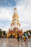 Ναός Panom Pratat, Nakorn Panom, Ταϊλάνδη Στοκ Εικόνες