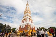 Ναός Panom Pratat, Nakorn Panom, Ταϊλάνδη Στοκ φωτογραφία με δικαίωμα ελεύθερης χρήσης