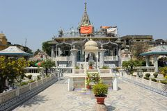 Ναός Parasnath σε Kolkata, Ινδία Στοκ Εικόνες