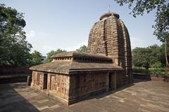 ναός parasuramesvara Στοκ Εικόνες
