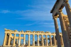 Ναός Parthenon αρχαίου Έλληνα Στοκ φωτογραφίες με δικαίωμα ελεύθερης χρήσης