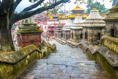 Ναός Pashupatinath, Κατμαντού, Νεπάλ Στοκ φωτογραφίες με δικαίωμα ελεύθερης χρήσης