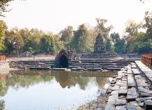 Ναός Pean Prasat Neak σε Angkor σύνθετο, Καμπότζη Στοκ Εικόνες