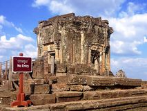 Ναός Phnom bakheng, Angkor στοκ εικόνες