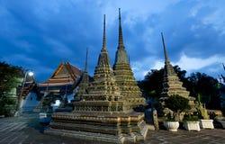 ναός pho της Μπανγκόκ wat Στοκ Φωτογραφία