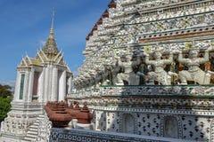 Ναός Pho Wat στη Μπανγκόκ, Ταϊλάνδη Στοκ Φωτογραφία