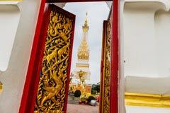 Ναός Phra που Phanom ένα από το σημαντικότερο Theravada Στοκ Εικόνα