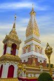 Ναός Phra που Phanom Stupa, σημαντικές βουδιστικές δομές Theravada στην περιοχή μέσα στην επαρχία Nakhon Phanom, Ταϊλάνδη Στοκ Φωτογραφίες