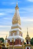 Ναός Phra που Phanom Stupa, σημαντικές βουδιστικές δομές Theravada στην περιοχή μέσα στην επαρχία Nakhon Phanom, Ταϊλάνδη Στοκ Εικόνες