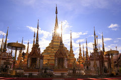Ναός Phra Boromthat, επαρχία Tak, Ταϊλάνδη Στοκ φωτογραφία με δικαίωμα ελεύθερης χρήσης