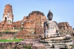 Ναός Phra Mahathat Wat Στοκ φωτογραφία με δικαίωμα ελεύθερης χρήσης