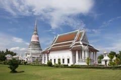Ναός Phra Samut Chedi Wat σε Samut Prakan, Ταϊλάνδη στοκ φωτογραφίες με δικαίωμα ελεύθερης χρήσης