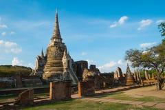 Ναός Phrasrisanpeth στην Ταϊλάνδη (δημόσια θέση) Στοκ εικόνα με δικαίωμα ελεύθερης χρήσης