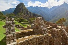 Ναός Picchu Machu Στοκ Εικόνες
