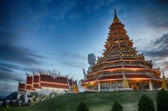 Ναός Pla Kung Huai στο κινεζικό ύφος Chiangrai Στοκ εικόνες με δικαίωμα ελεύθερης χρήσης