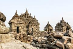Ναός Plaosan στο νησί της Ιάβας, Ινδονησία Στοκ Εικόνες