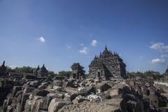 Ναός Plaosan στοκ εικόνες