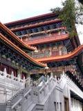 Ναός Po Lin στο Χονγκ Κονγκ μοναστηριών Στοκ Εικόνες