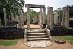 Ναός Polonnaruwa Στοκ Εικόνα