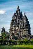Ναός Prambanan κοντά σε Yogyakarta, νησί της Ιάβας, Ινδονησία Στοκ εικόνα με δικαίωμα ελεύθερης χρήσης