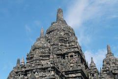 Ναός Prambanan κοντά σε Yogyakarta Στοκ Εικόνες