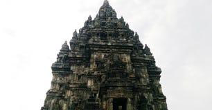 Ναός Prambanan σε Yogyakarta, Ινδονησία Στοκ Φωτογραφία