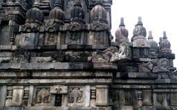 Ναός Prambanan σε Yogyakarta, Ινδονησία Στοκ εικόνες με δικαίωμα ελεύθερης χρήσης
