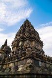 Ναός Prambanan Στοκ εικόνα με δικαίωμα ελεύθερης χρήσης
