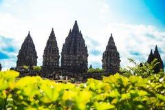Ναός Prambanan Στοκ Εικόνες