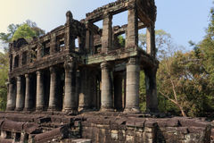 Ναός Preah Khan, Angkor, Καμπότζη Στοκ φωτογραφία με δικαίωμα ελεύθερης χρήσης