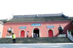 Ναός Qixia Στοκ Εικόνες