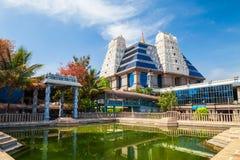 Ναός Radha Krishna Iskcon Sri στοκ φωτογραφίες