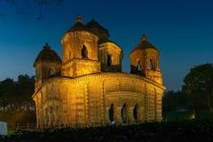 Ναός Rai Shyam Bishnupur, δυτική Βεγγάλη, Ινδία στοκ εικόνα με δικαίωμα ελεύθερης χρήσης