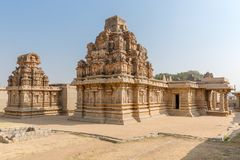 Ναός Rama Hazara, Hampi, Karnataka, Ινδία στοκ φωτογραφία
