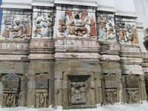 Ναός Rishikesh Ινδία Bharat Mandir Sri στοκ φωτογραφία με δικαίωμα ελεύθερης χρήσης