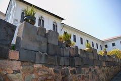 ναός santo koricancha του Domingo εκκλησιών Στοκ Εικόνες