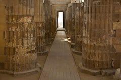 Ναός Saqqara Στοκ εικόνες με δικαίωμα ελεύθερης χρήσης