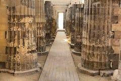 Ναός Saqqara Στοκ φωτογραφία με δικαίωμα ελεύθερης χρήσης