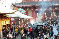 Ναός Senso-senso-ji Asakusa Στοκ φωτογραφία με δικαίωμα ελεύθερης χρήσης