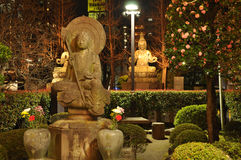Ναός Sensoji τή νύχτα, Asakusa, Τόκιο, Ιαπωνία Στοκ Φωτογραφίες