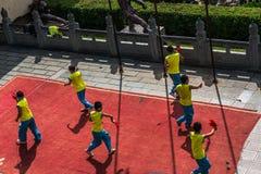 Ναός Shaolin στην επαρχία Henan, Κίνα Στοκ Εικόνες