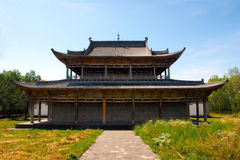 Ναός Shengyou Xinjiang στοκ φωτογραφία