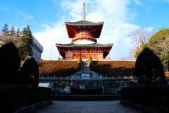 Ναός Shinshoji Naritasan Στοκ φωτογραφίες με δικαίωμα ελεύθερης χρήσης