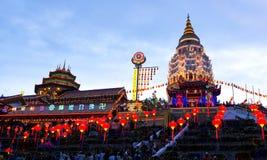 Ναός Si Lok Kek, νησί Penang, Μαλαισία στοκ εικόνες