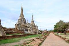 Ναός Si Phra sanphet Στοκ εικόνα με δικαίωμα ελεύθερης χρήσης