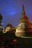 Ναός Si Sanphet Phra Wat σε Ayutthaya, το δεύτερο κεφάλαιο της Ταϊλάνδης Στοκ εικόνες με δικαίωμα ελεύθερης χρήσης