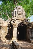 Ναός SOM TA σε Angkor σύνθετο, Καμπότζη Στοκ Φωτογραφίες