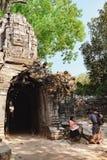Ναός SOM TA σε Angkor σύνθετο, Καμπότζη Στοκ φωτογραφία με δικαίωμα ελεύθερης χρήσης